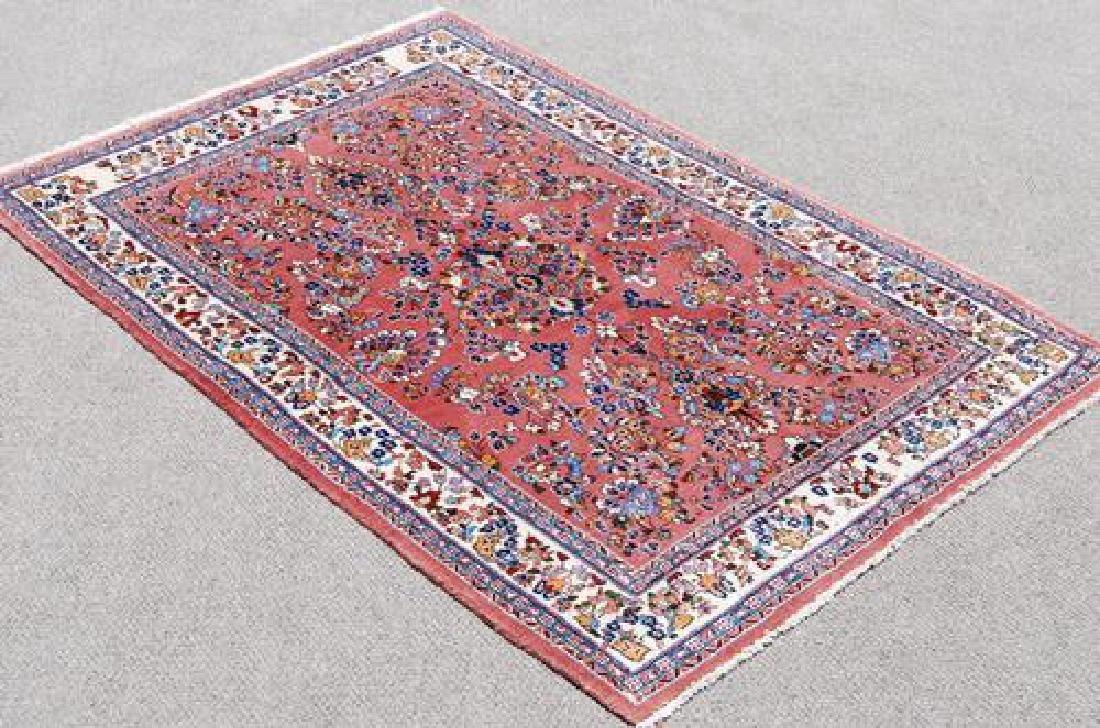 VERY BEAUTIFUL FLOWING FLORAL MEDALLION PERSIAN SAROUK
