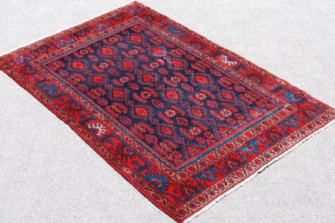 SIMPLY BEAUTIFUL HANDWOVEN SEMI ANTIQUE AFSHAR