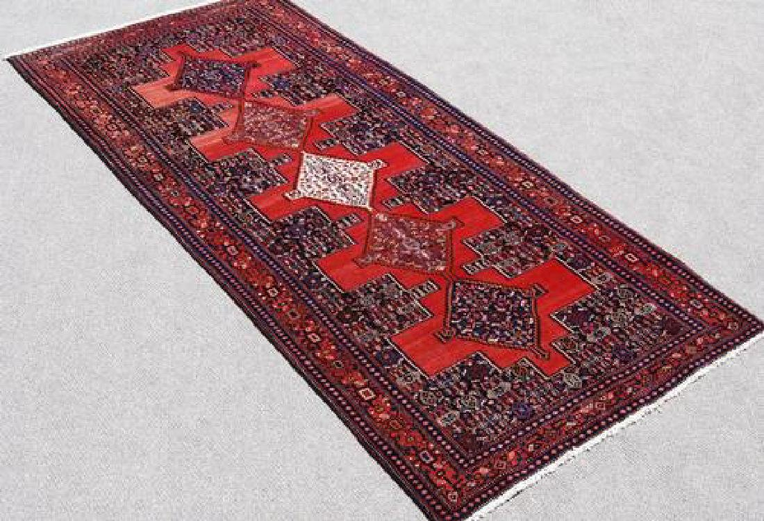 Hand Woven Mesmerizing Design Semi Antique Persian