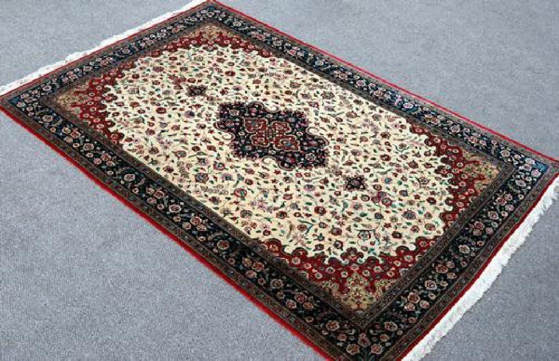 Magnificent Fine Quality 100% Silk Persian Qum