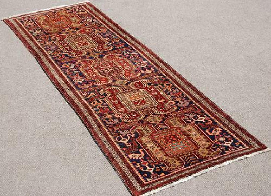 Dazzling Hand Woven Semi Antique Persian Meshgin