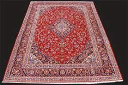 Beautiful Handmade Persian Kashan Area Rug