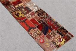Spectacular Semi Antique Turkish Patchwork Kilim
