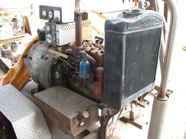 1382: KOHLER ELECTRIC PLANT GENERATOR, 220/440 3 PHASE,