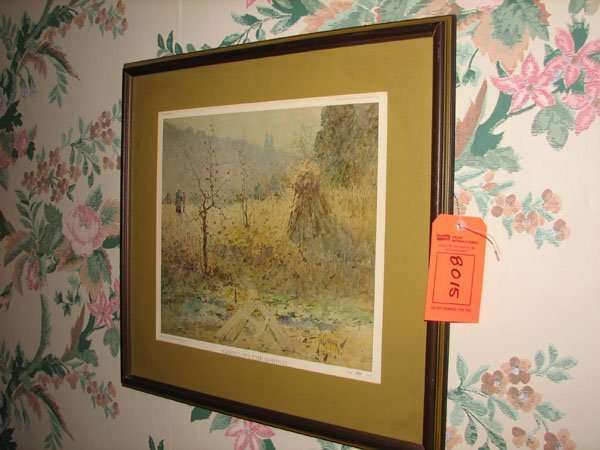 "8015: PRINT, ""GOING TO THE SPRING"" PLATE #22, FROM PRIV"
