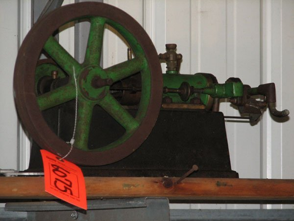 6075: SMALL SCALE HIT AND MISS ENGINE, SINGLE VALVE MOT