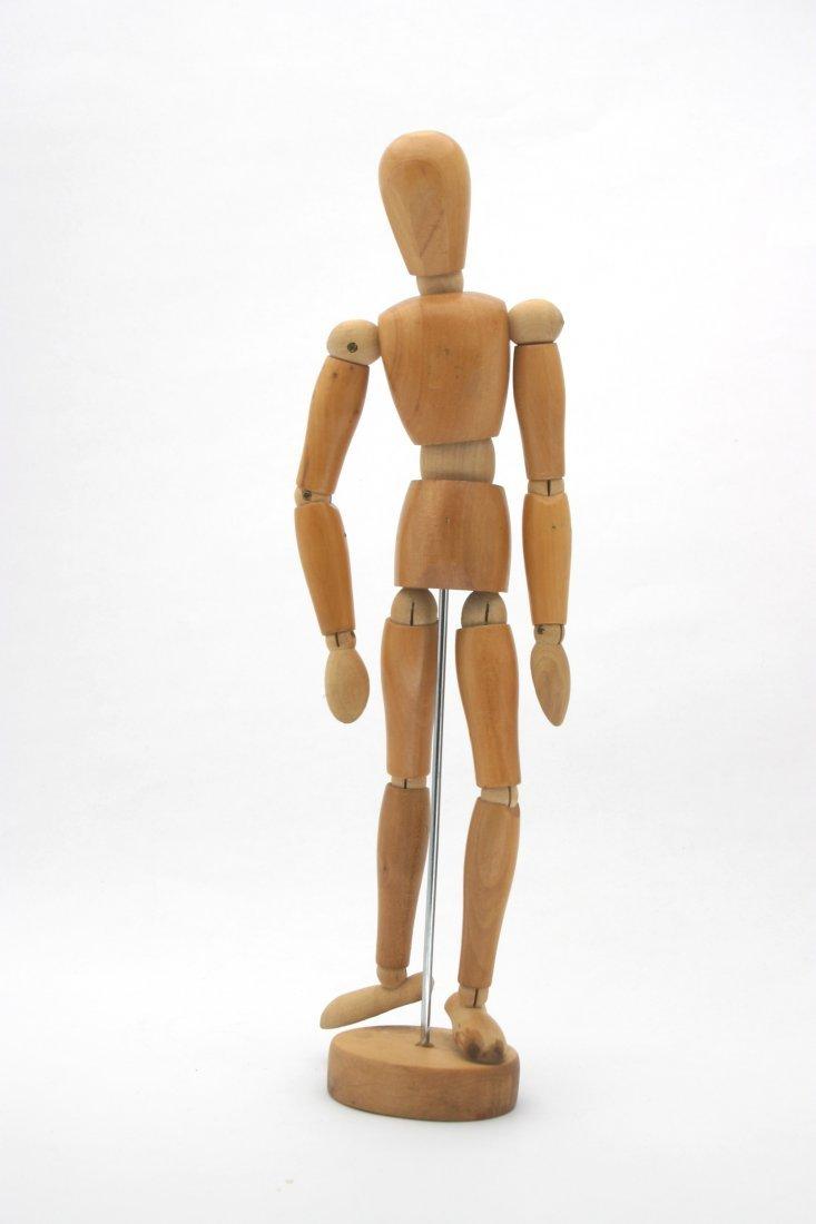 Vintage Wood Figure Manikan