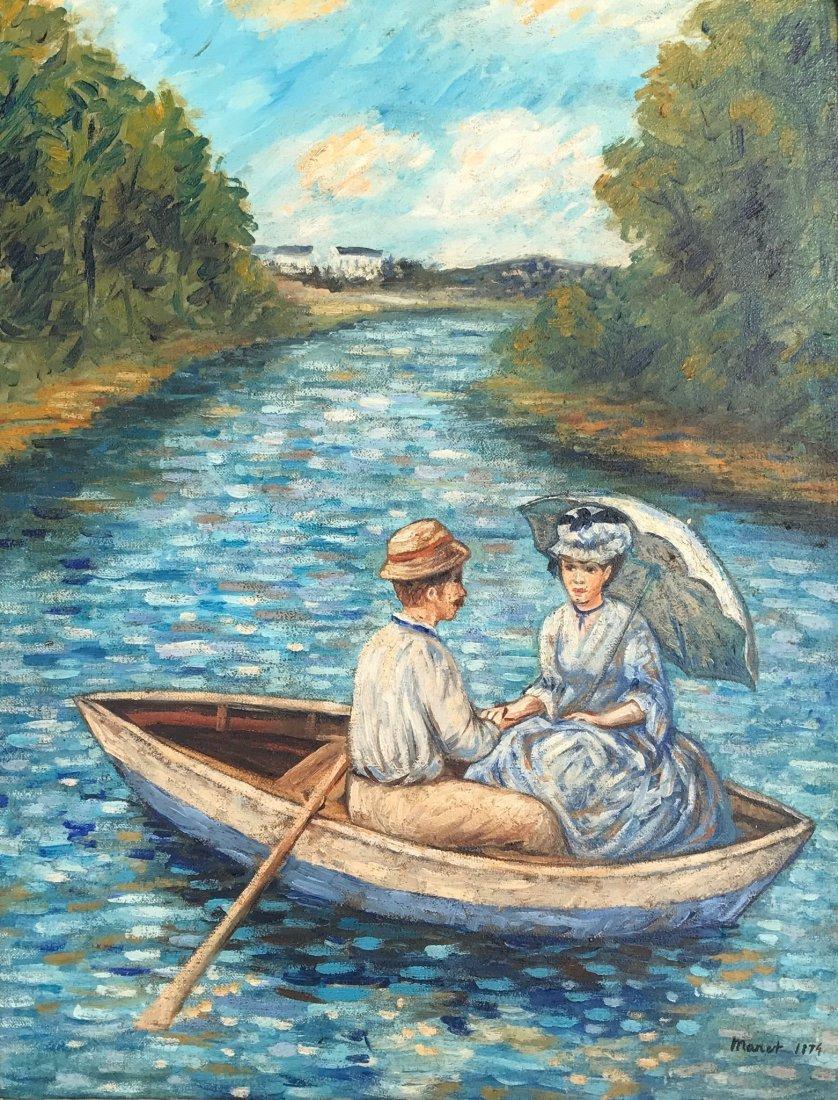 Édouard Manet (Oil on Canvas)