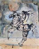 Salvador Dali (Watercolor on paper)