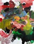 Joan Mitchell (oil on Canvas)