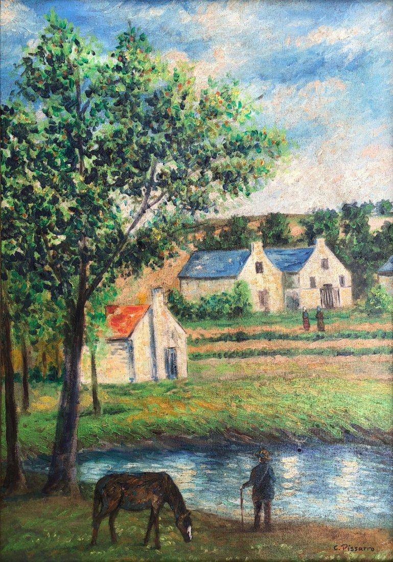 Camille Pissarro (Oil on Canvas)