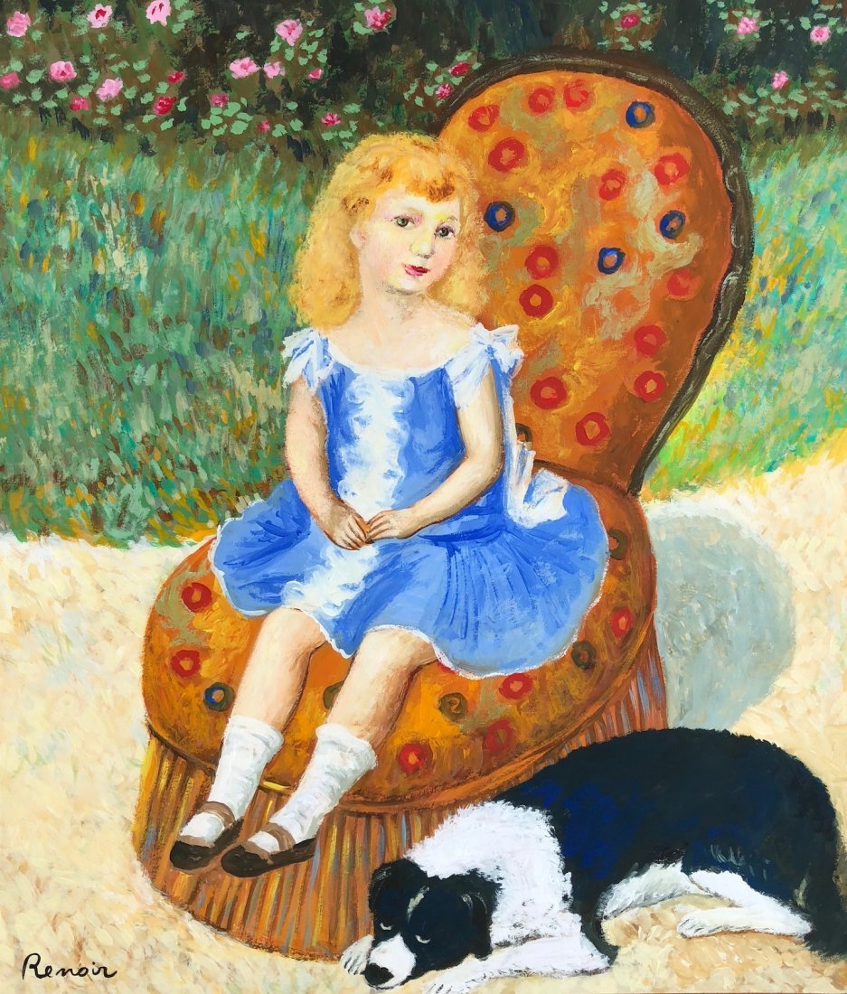 Painting Signed Renoir