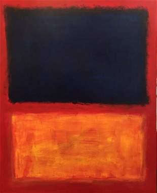 Mark Rothko (Oil on Board)