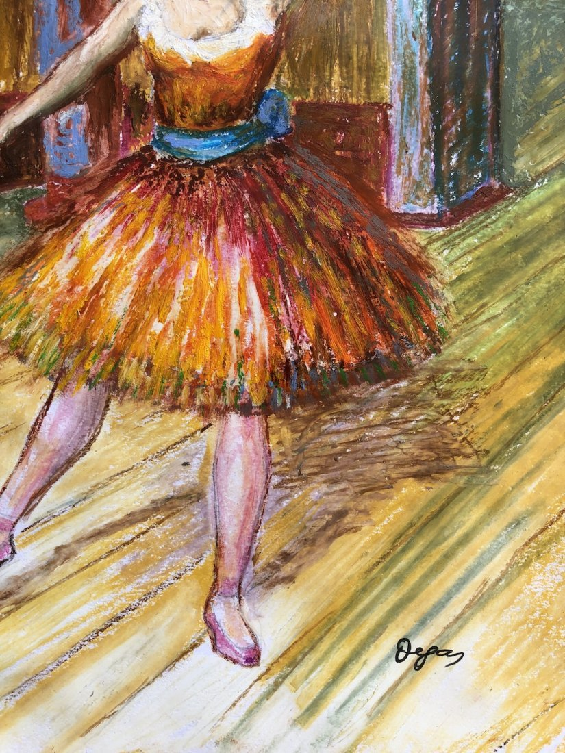 Edgar Degas (Pastel on Paper) - 3