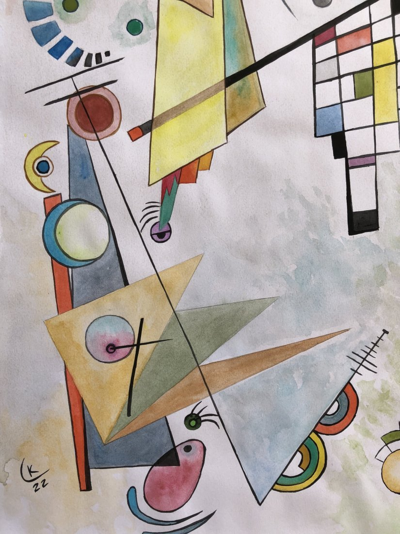 Wassily Kandinsky(Watercolor on paper) - 3