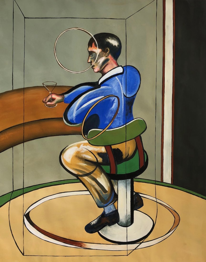 Painting Signed Francis Bacon