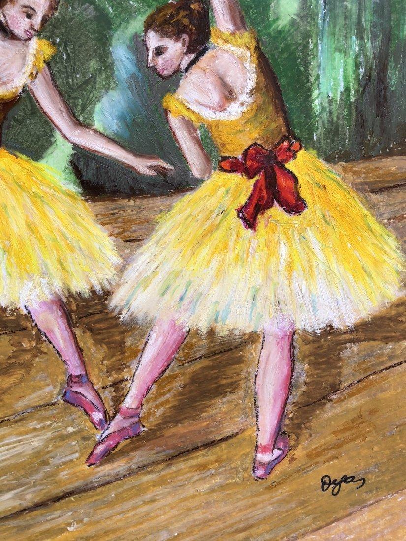 Edgar Degas (Pastel on Paper) - 3