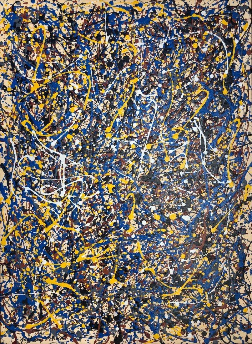 Signed Jackson Pollock