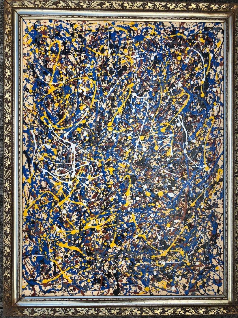 Signed Jackson Pollock - 2