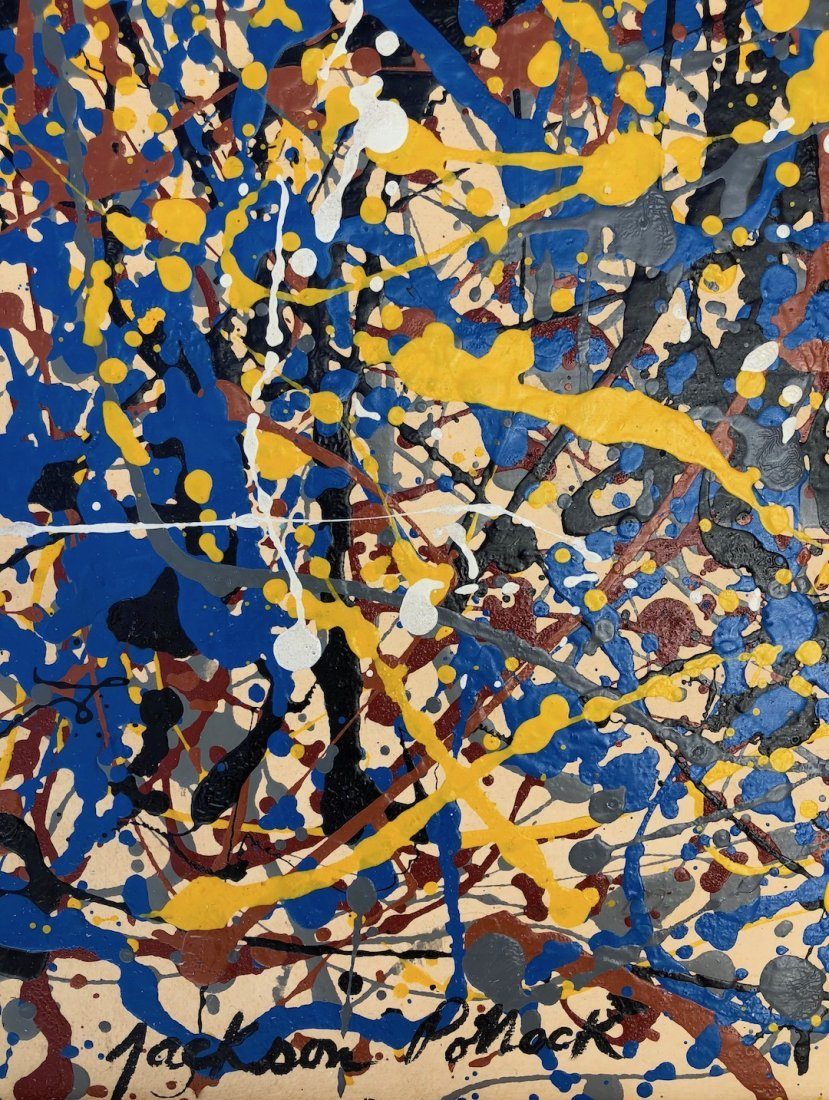 Signed Jackson Pollock - 5