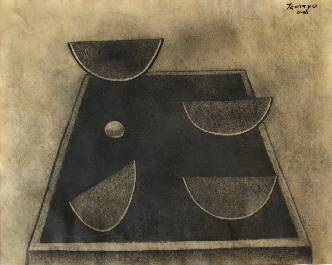 Rufino Tamayo (Graphite on paper)