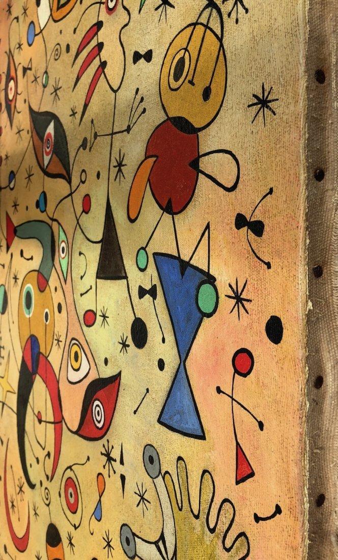 Joan Miro (Oil on Canvas) - 5