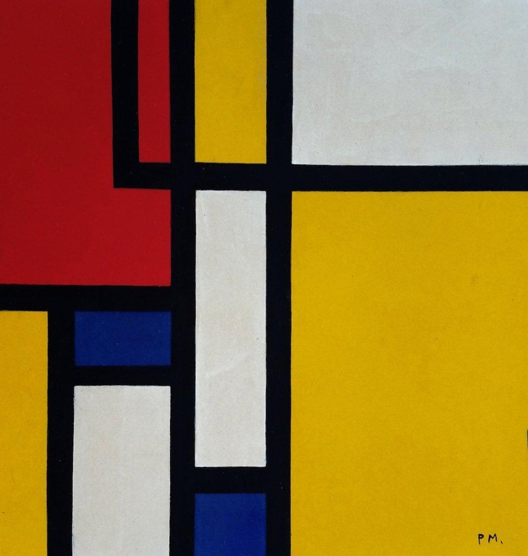 Piet Mondrian ATTR. (Gouache on paper)