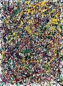 Signed Jackson Pollock (Oil on Canvas