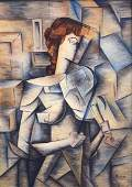 Signed Picasso (Oil on Canvas)