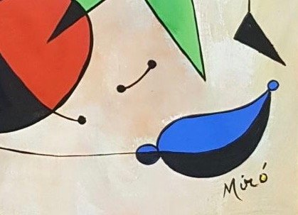 Joan Miro (Gouache on Paper) Painting - 3