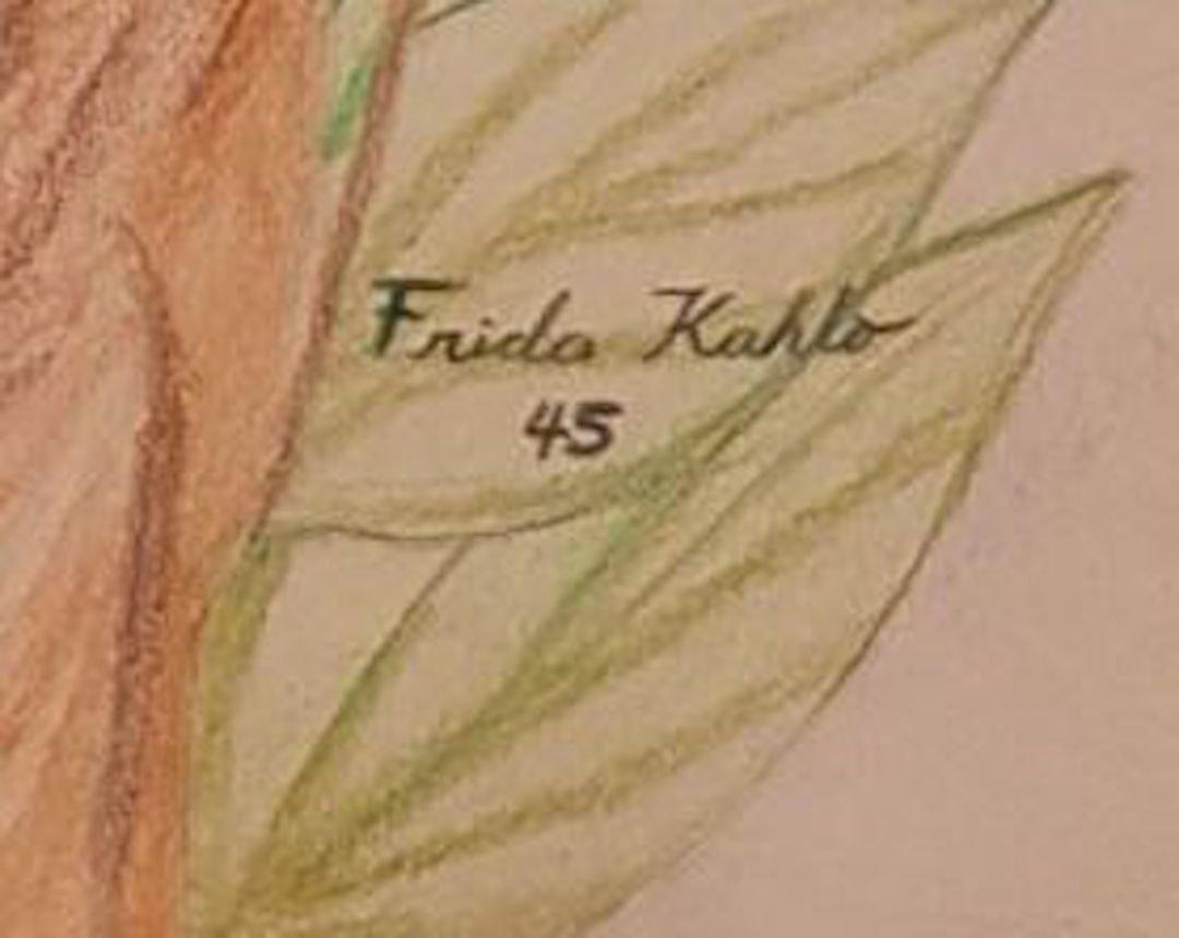Frida Kahlo (Colored Pencils on Paper) - 3