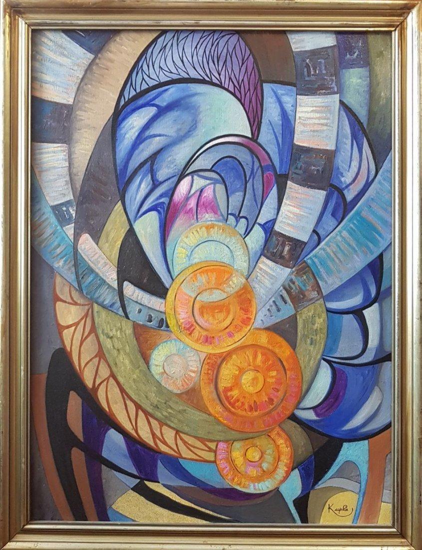 Frantisek Kupka (Oil on Canvas) - 2