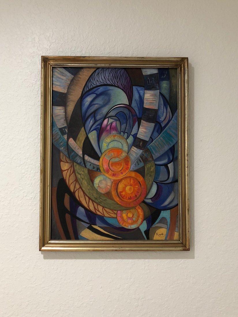 Frantisek Kupka (Oil on Canvas) - 3