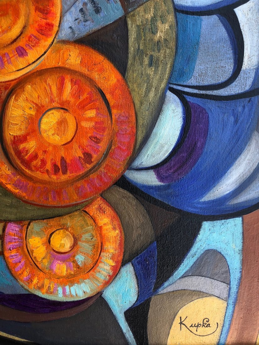 Frantisek Kupka (Oil on Canvas) - 5