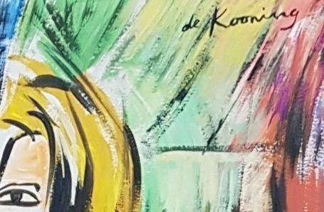 Willem de Kooning (Gouache on paper) - 3