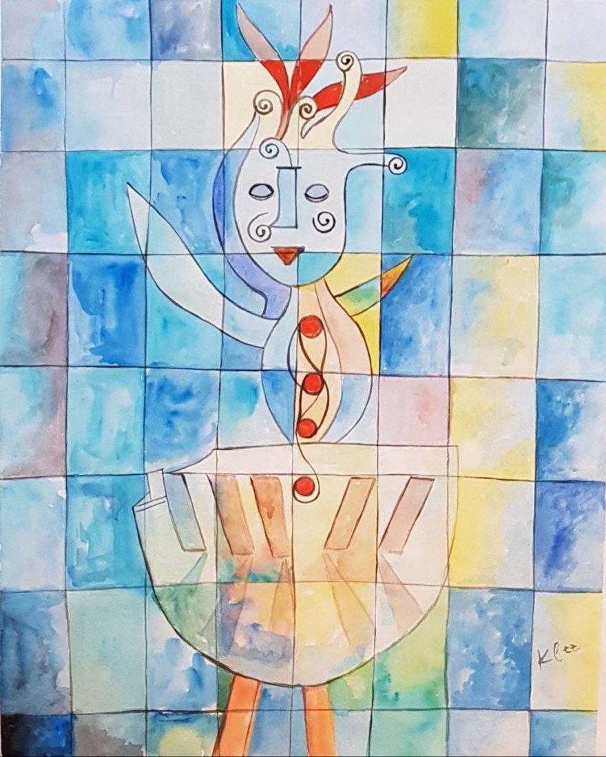 Paul Klee (Watercolor on paper)