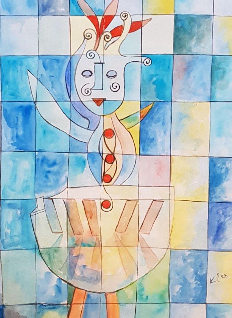 Paul Klee (Watercolor on paper) - 2