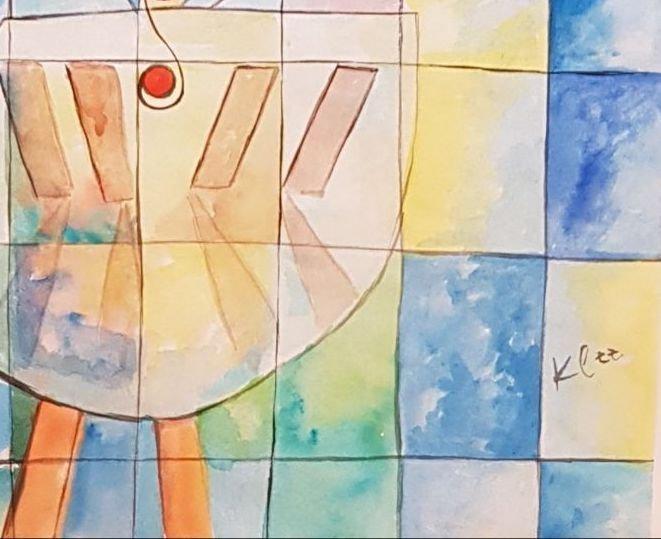 Paul Klee (Watercolor on paper) - 3
