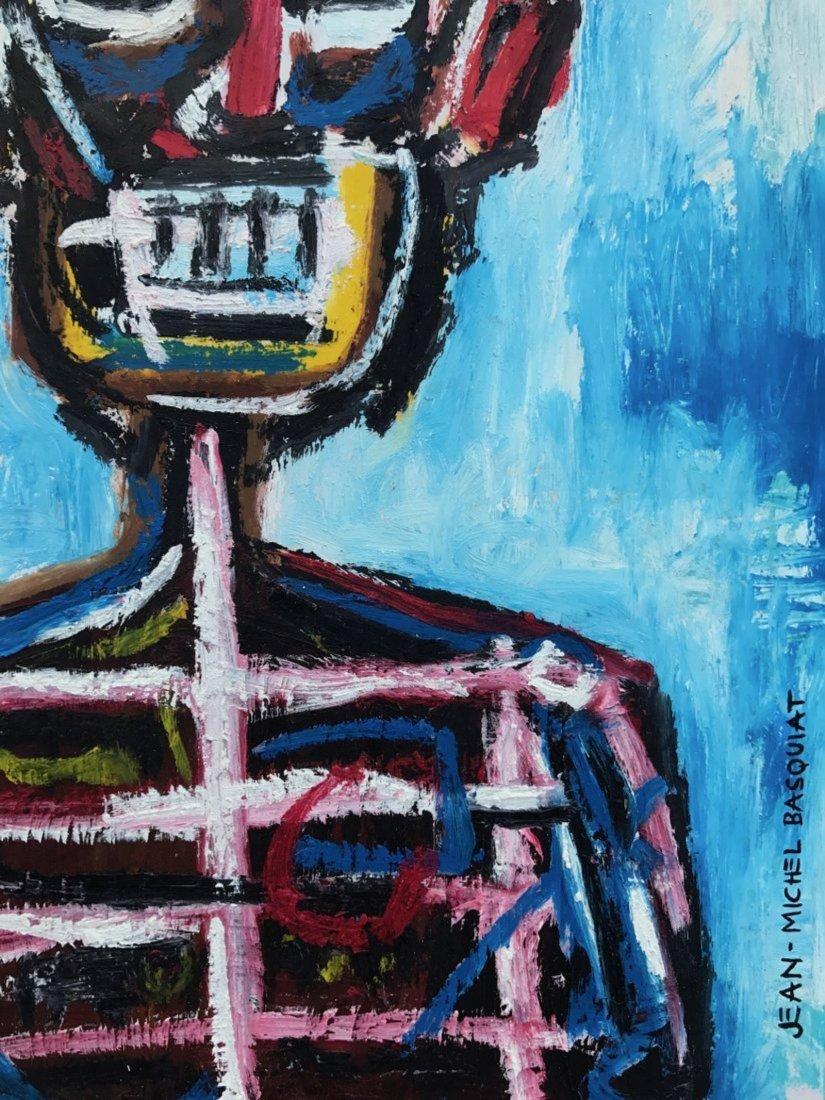 Jean Michel Basquiat (Mixed media on paper) - 2