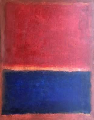 Mark Rothko (Oil on Canvas)