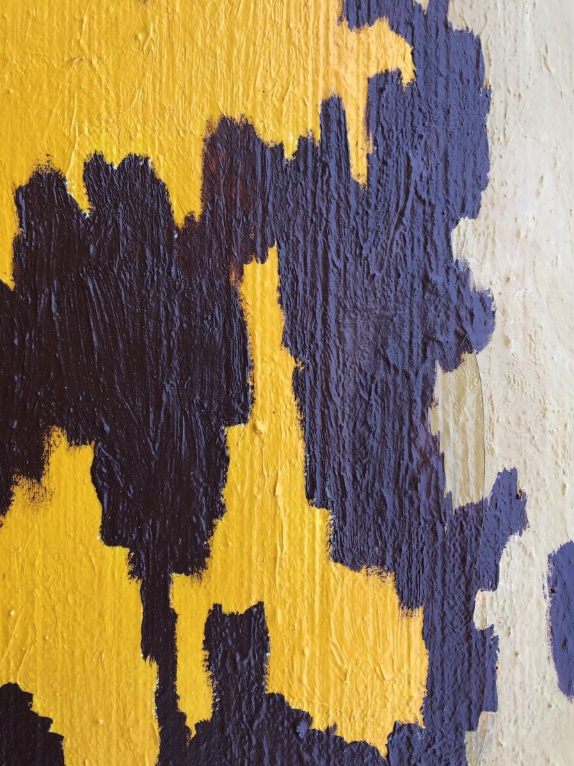 Signed Clyfford (Oil on Canvas) - 5