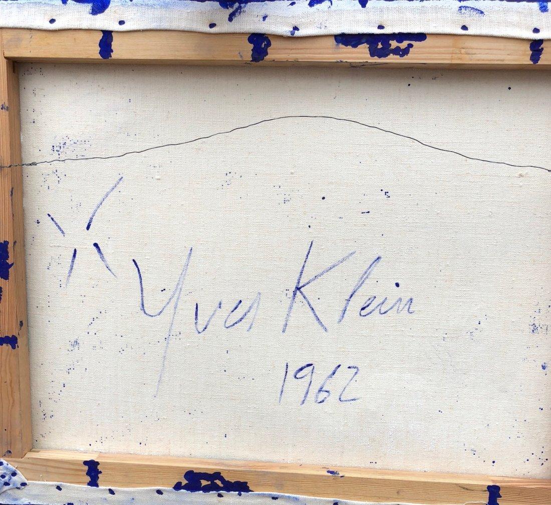 Yves Klein (Mixed media on canvas) - 7