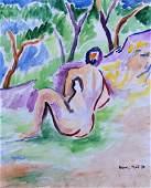 Signed Henri Matisse