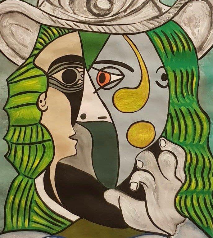 Pablo Picasso (Gouache on Paper) - 2