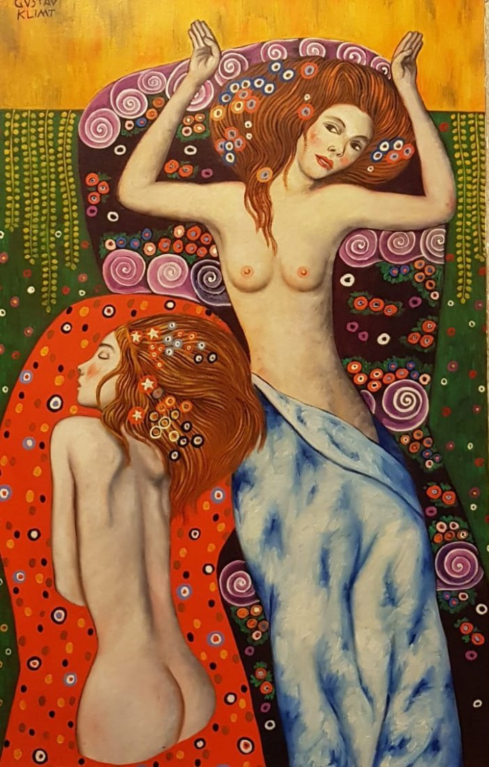 Gustav Klimt (Oil on Canvas) - 2