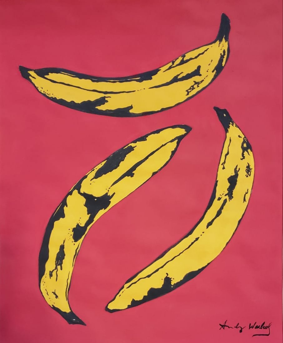 Andy Warhol (Gouache on paper)