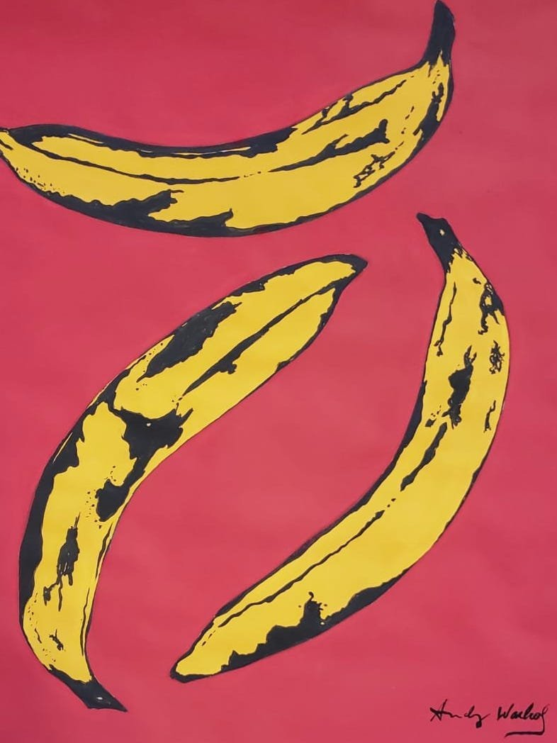 Andy Warhol (Gouache on paper) - 2