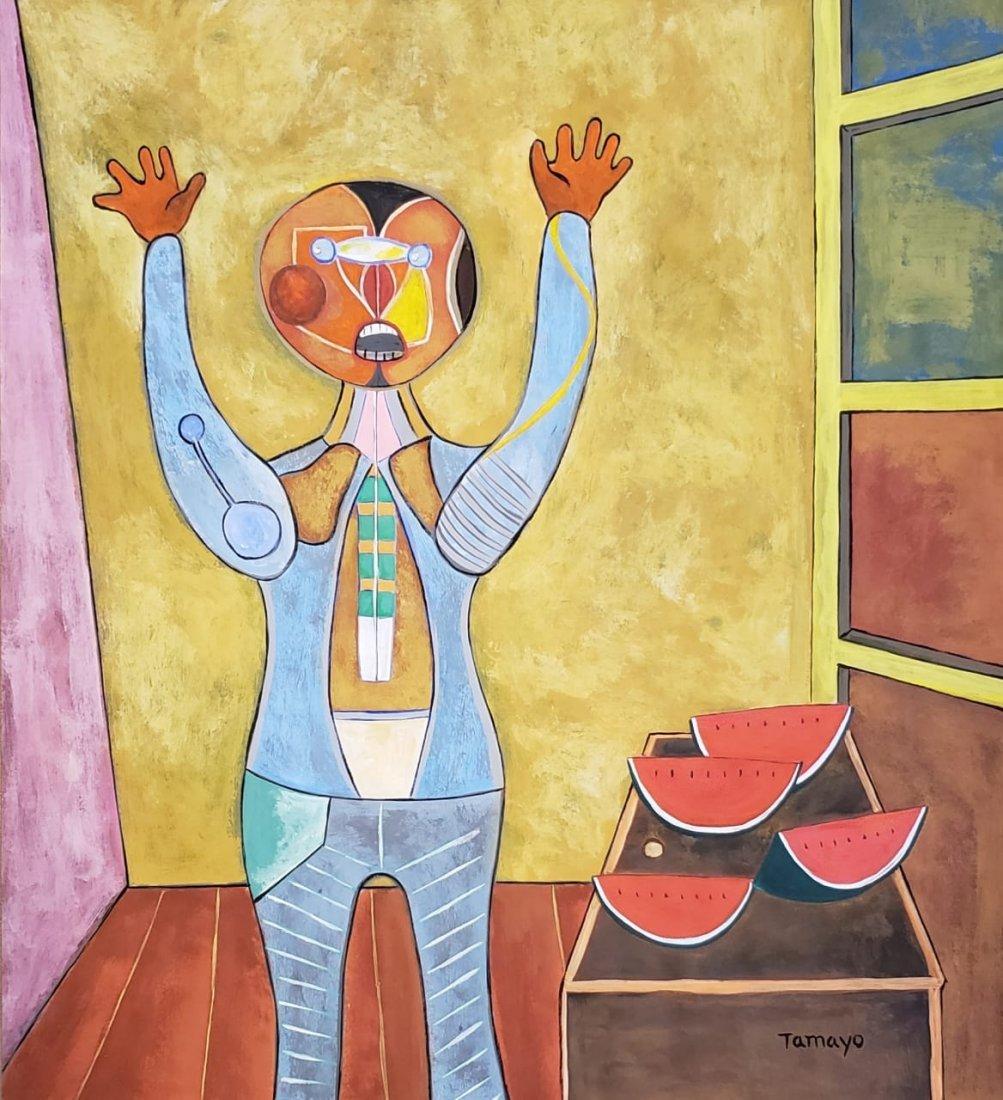 Rufino Tamayo (Gouache on Paper)