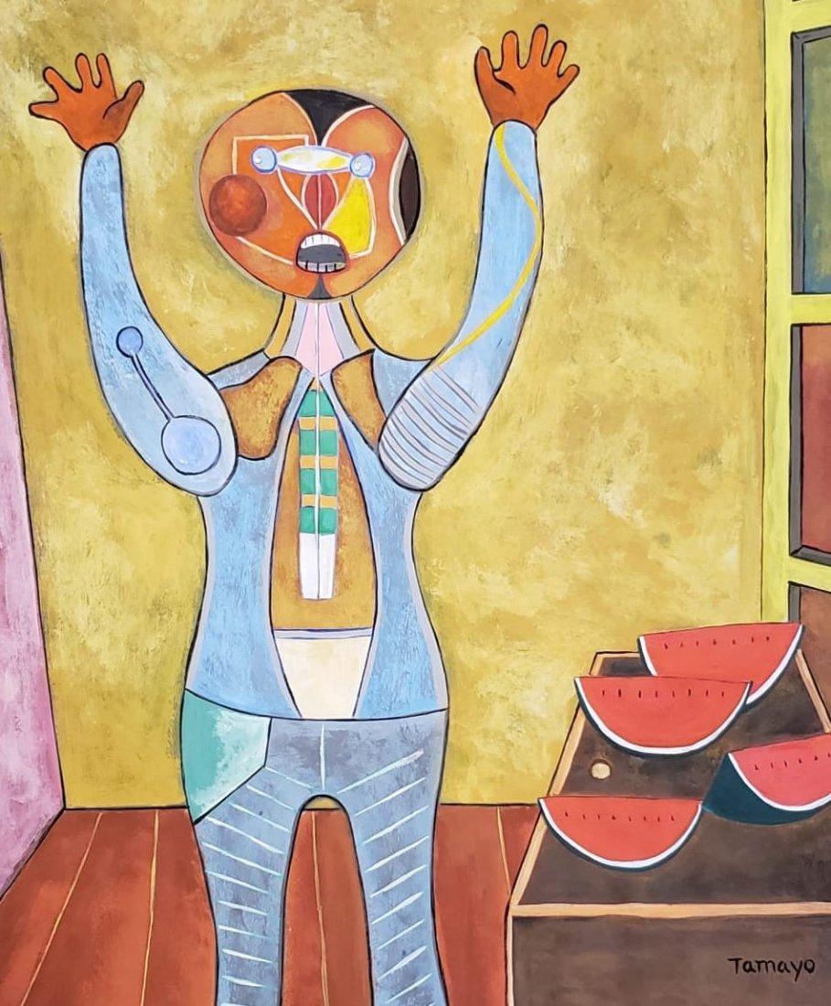 Rufino Tamayo (Gouache on Paper) - 2