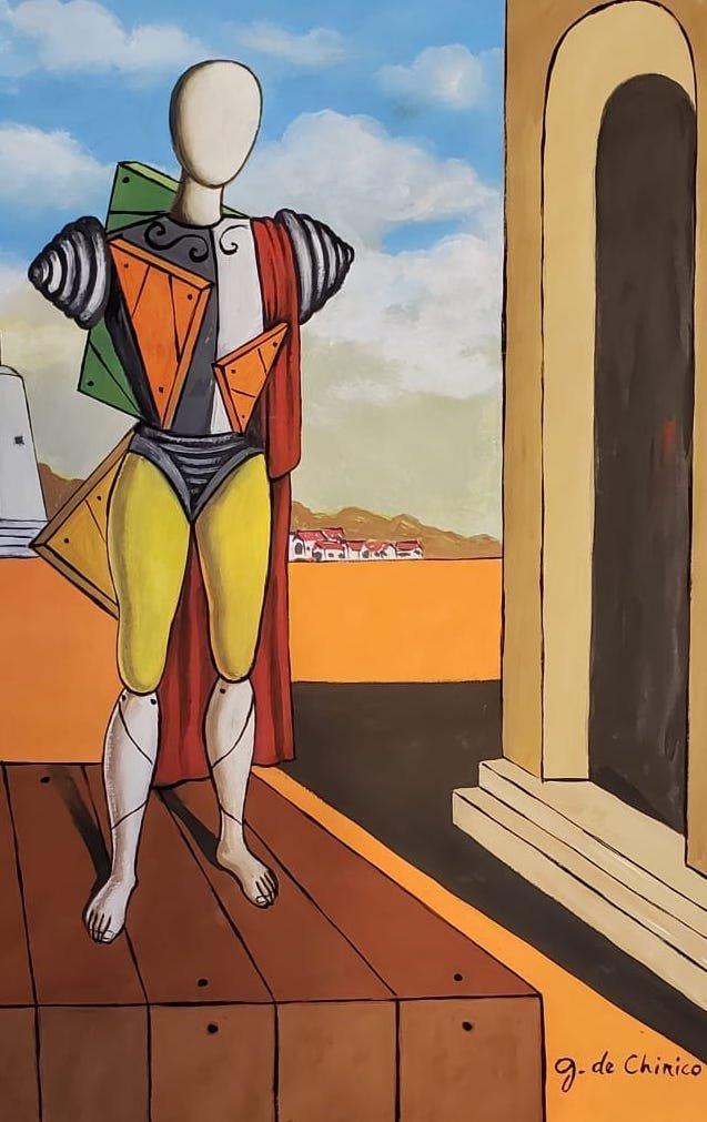 Giorgio de Chirico (Gouache on Paper) - 2